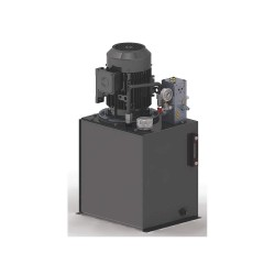 Monarch Instrument - T92C405C93F0-01 - 5 HP 208-230/460VAC Hydraulic Power Unit, 2500 psi 11.0/2.8 gpm