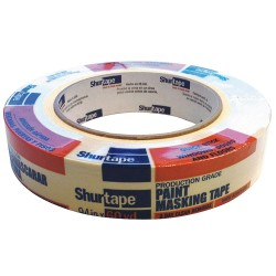 Shurtape - CP 066 - Painters Masking Tape, 55m x 24mm, Natural, 5.60 mil