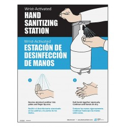 Best Sanitizers - LT10013 - Hand Sanitizing Station Sign