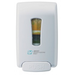 Best Sanitizers - MD10030 - Hand Sanitizer Dispenser, 1250mL, White