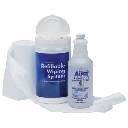 Best Sanitizers - SS10005R - Refillable Wiping System, Rolls, PK6