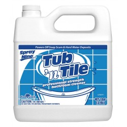 Permatex - 27501 - 1 gal. Lemon Fragrance Tub and Tile Cleaner, 4 PK