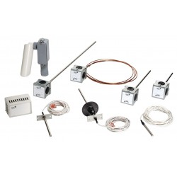 Johnson Controls - TE-6310F-1 - Temperature Sensor, Flush Mount