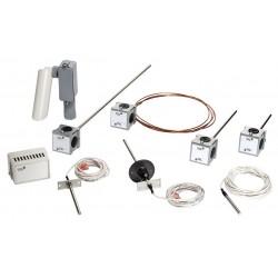 Johnson Controls - TE-6312M-1 - Temperature Sensor, Well, 8 In