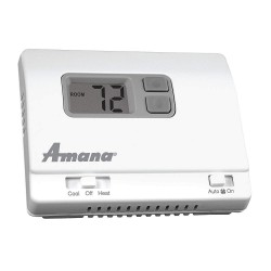 Amana - 1246003 - Mechanical Thermostat, 5-5/16 Width, 5-5/16 Height, 3 Depth, For Use With PTC and PTH
