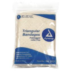 Dynarex - 3672 - Triangular Bandage, 36in W x 51in L, PK12