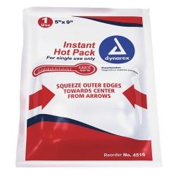 Dynarex - 4516 - 5 x 9 White Instant Hot Packs, 24PK