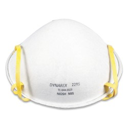 Dynarex - 2295 - N95 Particulate Respirator, White, Universal, 240PK