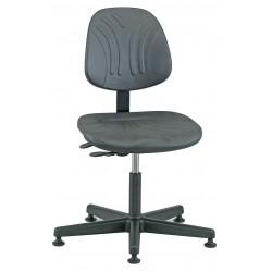 Bevco Precision - 7001D - DURA Industrial Polyurethane Chair, 3-Way Tilt, 15 - 20 Height Adjustment