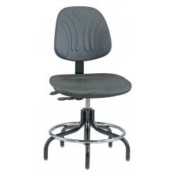 Bevco Precision - 7201D - DURA Industrial Polyurethane Chair, 3-Way Tilt, 19 - 24 Height Adjustment