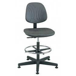 Bevco Precision - 7300D - DURA Industrial Polyurethane Chair, 19 - 26-1/2 Height Adjustment