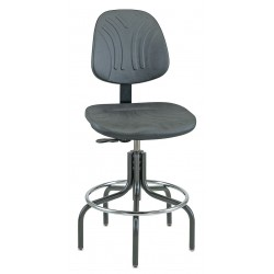 Bevco Precision - 7600D - DURA Industrial Polyurethane Chair, 24 - 29 Height Adjustment