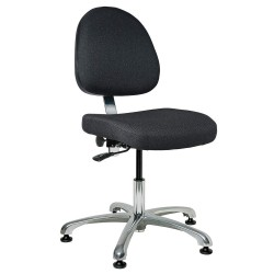 Bevco Precision - 9050M-S - Standard Industrial Chair, Seat Adjustment 15-1/2 - 21