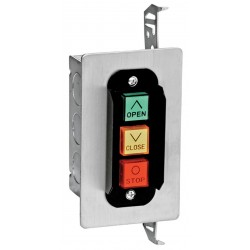 American Garage Door - 3BF - Control Station, 3 Buttons, Nema 1