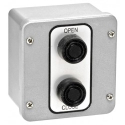 American Garage Door - 2BX - Control Station, 2 Buttons, Surface Mount