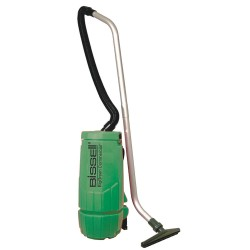 Bissell BigGreen - BGPRO10A - 2-1/2 gal. Backpack Vacuum, 122 cfm, 3/4 HP, 5 Amps, Standard Filter Type