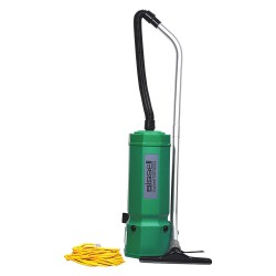 Bissell BigGreen - BG1001 - 2-1/2 gal. Backpack Vacuum, 120 cfm, 1.8, 10.2 Amps, HEPA Filter Type