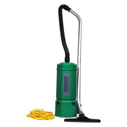 Bissell BigGreen - BG1006 - 1-1/2 gal. Backpack Vacuum, 120 cfm, 1.8, 10.2 Amps, HEPA Filter Type