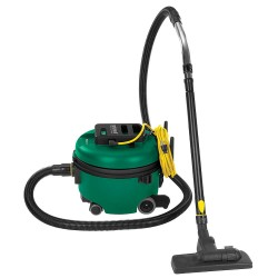 Bissell BigGreen - BGCOMP9H - 2 gal. Commercial Series Canister Vacuum, 106 cfm, 9 Amps, HEPA, ULPA Filter Type