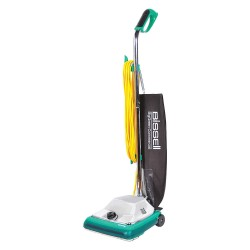 Bissell BigGreen - BG101H - 2 gal. Capacity Bagged Upright Vacuum with 12 Cleaning Path, 105 cfm, HEPA Filter Type, 7.25 Amps