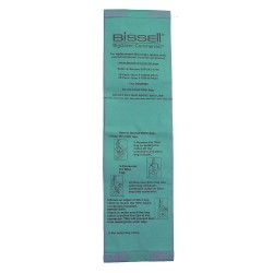 Bissell BigGreen - U8000-PK25 - Vacuum Cleaner Bags, 3-13/64in.L, PK25