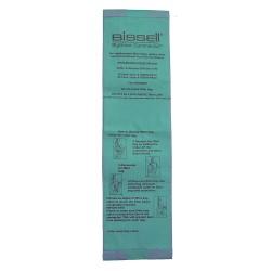 Bissell BigGreen - U8000-PK25 - Vacuum Cleaner Bags, 3-13/64in.L, PK25