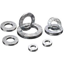 Disc-Lock - 100-01 - Lock Washer, Bolt 3/16, Carbon Stl, PK200