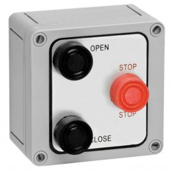 American Garage Door - 3B4X - Control Station, 3 Buttons, Nema 4X