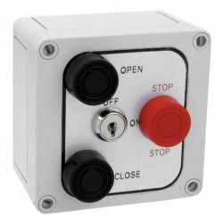 American Garage Door - 3B4XL - Control Station, 3 Buttons, Nema 4X