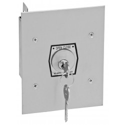 American Garage Door - 1KF - Keyswitch, 2 Buttons, Flush Mount