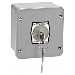 American Garage Door - 1KP - Keyswitch, 2 Buttons, Surface Mount