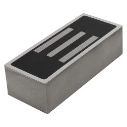World of Welding - AC2203 - Rectangular Fixture Magnet, 130 lb.