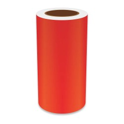 VnM Signmaker - REFRD-3228 - Red Vinyl Label Tape, Continuous Label Type, 75 ft. Length, 9 Width