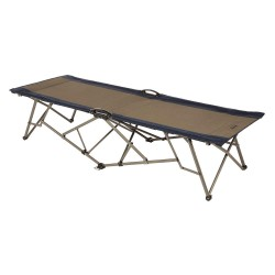 Kamp-Rite Tent Cot - FC811 - 79 x 28-1/2 EZ Fold Cot with 250 lb. Weight Capacity; Blue/Gray