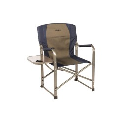 Kamp-Rite Tent Cot - CC105 - 20 x 34 Directors Chair with 225 lb. Weight Capacity; Blue/Gray