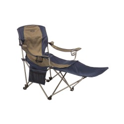 Kamp-Rite Tent Cot - CC231 - 49 x 24-1/2 Chair with 300 lb. Weight Capacity; Blue/Gray