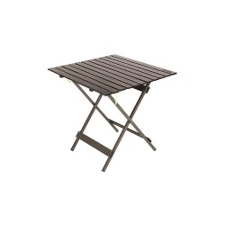 Kamp-Rite Tent Cot - KFT015 - 27-1/2 x 29-1/2 Kwik Fold Table; Gray