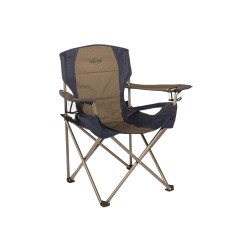 Kamp-Rite Tent Cot - CC026 - 20 x 34 Chair with 300 lb. Weight Capacity; Blue/Gray