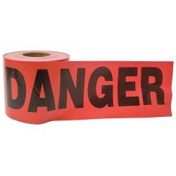 C.H. Hanson - 16105 - Barricade Tape, Red, Danger, 300ft.