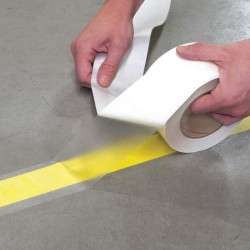 Incom / Top Tape & Label - FTL500 - Floor Marking Tape, Solid, Continuous Roll, 5 Width, 1 EA