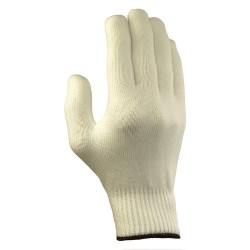 Ansell-Edmont - 78-403 - Knit Gloves, Polyester Material, White, Glove Size: 7