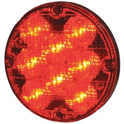 Maxxima / Panor - M90070R - Bus Warning Light, LED, 7.2In H, Red