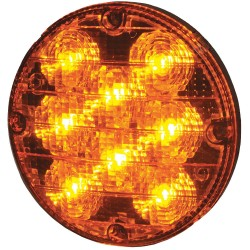 Maxxima / Panor - M90070Y - Bus Warning Light, LED, 7.2In H, Amber