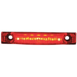 Maxxima / Panor - M20341R - Clearance Marker Light, LED, 0.6In H, Red