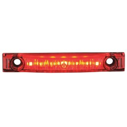 Maxxima / Panor - M20341RCL - Clearance Marker Light, LED, Red/Clear