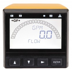 GF Piping Systems - 3-9900-1P - 1/2 to 8 GF Insertion Fitting Electronic Flowmeter, Glass Filled Polypropylene, 0 to 99999 gpm