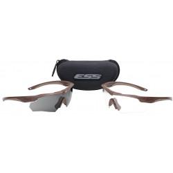ESS - 740-0463 - Crossbow Anti-Fog, Scratch-Resistant Ballistic Safety Glasses, Assorted Lens Color