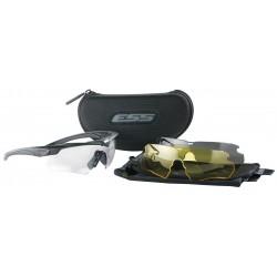 ESS - 740-0387 - Crossbow Anti-Fog, Scratch-Resistant Ballistic Safety Glasses, Assorted Lens Color