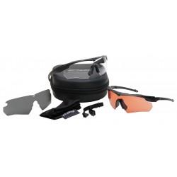 ESS - 740-0388 - Crossbow Suppressor Anti-Fog, Scratch-Resistant Ballistic Safety Glasses, Assorted Lens Color