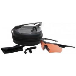 ESS - 740-0475 - Crossbow Suppressor Anti-Fog, Scratch-Resistant Ballistic Safety Glasses, Assorted Lens Color